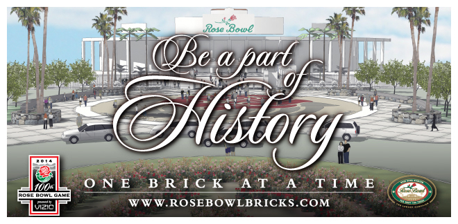 Rose Bowl Brick Campaign