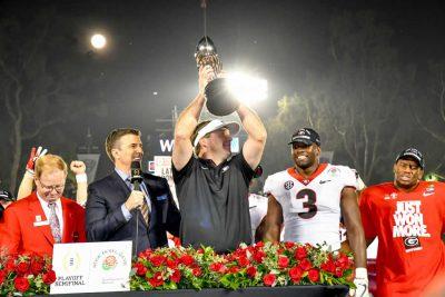 Georgia wins Rose Bowl Game thriller in 2OT
